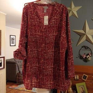 Catherines plus size top NWT